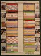 Vel 12 Provinciezegels ; NVPH V2065-2076 V 2065  2002 Used Gebruikt Oblitere NEDERLAND NIEDERLANDE / NETHERLANDS - 1980-... (Beatrix)