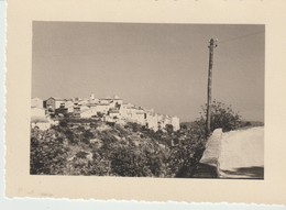 PHOTO - TOURETTES SUR LOUP - 28 JUIN 1949 - Lugares