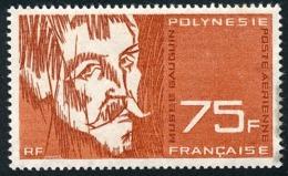 POLYNESIE 1965 - Yv. PA 13 *   Cote= 29,00 EUR - Musée Gauguin : Autoportrait 'Les Misérables'  ..Réf.POL23718 - Luftpost