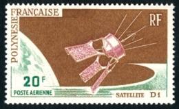 POLYNESIE 1966 - Yv. PA 19 **   Cote= 8,50 EUR - Satellite D1  ..Réf.POL23562 - Airmail