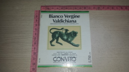 ET-1773 FIRENZE CONSORZIO COOPERATIVA VINI DELLA TOSCANA CANTINA AGRICOLA AREZZO BIANCO VERGINE VALDICHIANA - Etiquettes