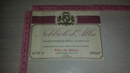 ET-1776 CASTIGLIONE FALLETTO TERRE DEL BAROLO NEBIOLO D'ALBA - Etiquettes