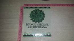 ET-1780 RADDA IN CHIANTI STORICHE CANTINE FATTORIA DELLE MAESTRELLE BIANCO VERGINE VALDICHIANA - Etiquettes