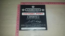 ET-1781 ANDRESEN ESTABLISHED 1845 VICTORY PORT OPORTO - Etiquettes