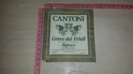 ET-1788 TRICESIMO AZIENDA AGRICOLA CANTONI GRAVE DEL FRIULI REFOSCO DAL PEDUNCOLO ROSSO - Etiquettes
