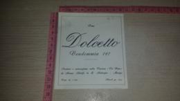 ET-1793 CASCINA CA' VEIA DA AZIANO ADOLFO IN SANT'AMBROGIO MANGO VINO DOLCETTO VENDEMMIA 197 - Etiquettes
