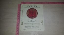 ET-1795 GRADISCA D'ISONZO MARCO FELLUGA COLLIO MERLOT - Etiquettes