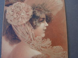 Schönes Mädchen Motiv, Mädchen, Portrait, Fillet, Girl,  Aus Münsterlager Hannover1903 - Frauen