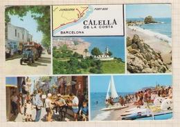 9AL814 CALELLA DE LA COSTA MULTI VUES 2 SCANS - Gerona