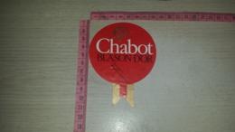ET-1831 CHABOT BLASON D'OR ARMAGNAC - Etiquettes