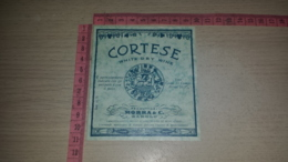 ET-1821 BAROLO MORRA & C. CORTESE WHITE DRY WINE - Etiquettes