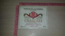 ET-1832 FRASCATI VINI DI FONTANA CANDIDA SPA - Etiquettes