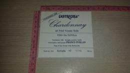 ET-1824 COSA DI SAN GIORGIO DELLA RICHINVELDA CASTELCOSA CHARDONNAY FRANCO FURLAN - Etiquettes