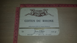 ET-1825 TROYES FORMONT SA COTES DU RHONE PRESTIGE - Etiquettes