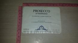 ET-1833 CROCETTA DEL MONTELLO CANTINE UNIONE VINI SUPERIORI PROSECCO DI VALDOBBIADENE - Etiquettes