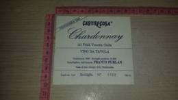 ET-1834 COSA DI SAN GIORGIO DELLA RICHINVELDA CASTELCOSA CHARDONNAY FRANCO FURLAN - Etiquettes
