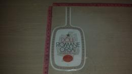ET-1836 DOLE ROMANE ORSAT CUVEE SPECIALE - Etiquettes