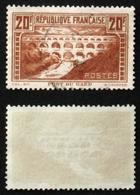 N° 262b 20F PONT DU GARD Rivière Blanche TB  Cote 55€ - Frankreich