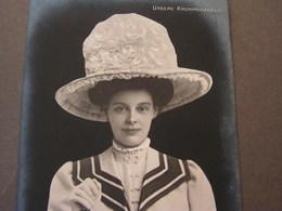 Fraue Mit Hut  Fotos Ca. 1900 Kronprinzesin . - Frauen