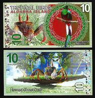 Aldabra Island (Seychelles) - 10 Dollars 2017 UNC - Seychellen
