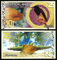 Aldabra Island (Seychelles) - 25 Dollars 2017 UNC - Seychelles