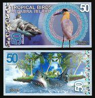 Aldabra Island (Seychelles) - 50 Dollars 2017 UNC - Seychelles