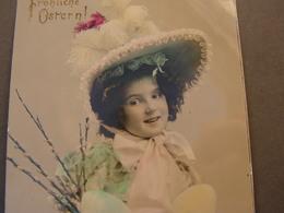 Mädchen  Mit Hut  Foto Aus Dresden 1911 - Abbildungen
