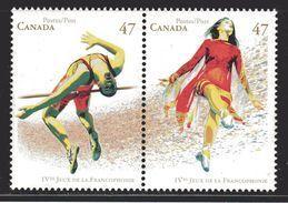 Canada 2001 Froncophonie Games (#1895a) Stamp Set MNH ! - 1952-.... Règne D'Elizabeth II