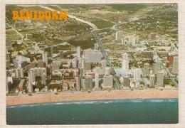 9AL821 BENIDORM VISTA AEREA 2 SCANS - Espagne