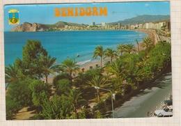 9AL822 BENIDORM PARQUE Y PLAYA DE PONIENTE 2 SCANS - Espagne