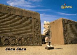 AK Peru Chan Chan UNESCO New Postcard - Peru
