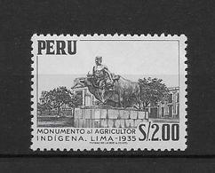 LOTE 1876  ///  (C010)  PERU  -  YVERT Nº:  445 **MNH   ¡¡¡ LIQUIDATION !!! - Pérou