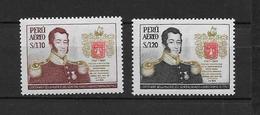LOTE 1876  ///  (C010)  PERU  -  YVERT Nº:  PA 146/147 **MNH   ¡¡¡ LIQUIDATION !!! - Pérou