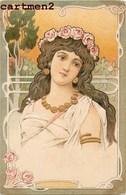 BELLE CPA GAUFREE ILLUSTRATEUR FEMME ART NOUVEAU STYLE KIRCHNER MUCHA 1900 - Illustrateurs & Photographes
