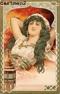 BELLE CPA GAUFREE ILLUSTRATEUR FEMME ART NOUVEAU STYLE KIRCHNER MUCHA 1900 ORIENTLALISME - Illustrateurs & Photographes