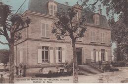 CPA Environs Du Monteil-au-Vicomte - Château De Jioux (Gioux) - France