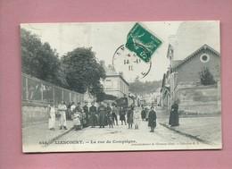 CPA - Liancourt - La Rue De Compiègne - Liancourt