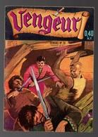 Petit Format Vengeur N°28 Fulgor La Rançon De Dimitri Lebensky - Red Bradford De 1960 - Arédit & Artima