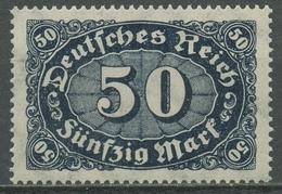 Deutsches Reich 1922/23 Ziffern Im Queroval, Queroffset 246 C Postfrisch Geprüft - Deutschland