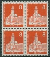 Berlin 1959 Berliner Stadtbilder 187 4er-Block Postfrisch - [5] Berlin