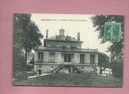 CPA - Liancourt - (Oise) - L'Hôtel De Ville , Vue De Derrière - Liancourt