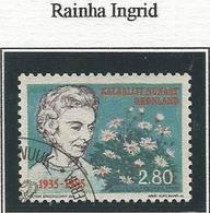 LSJP GREENLAND INGRID QUEEN MOTHER OF DENMARK 1985 - Groenland