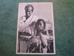 COTE DES SOMALIS - Agneau Dans Les Bras D'une Fillette (publicité Au Verso) - Somalie