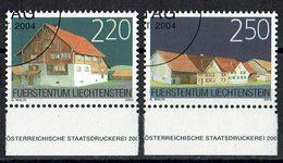 Liechtenstein 2004 # Mi. 1355/1356 O - Liechtenstein