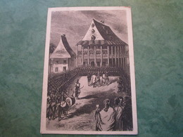 Vieux Palais Des Souverains Malgaches (publicité Au Verso) - Madagascar