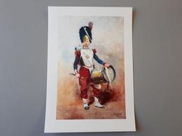 Affiche : Tambour Grenadier De La Guarde Impériale Second Empire & - Livres, Revues & Catalogues