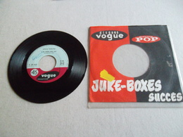VINYLE 45 T JOHNNY HALLYDAY HEY PONY VOGUE PRODUCTIONS V 45 845 - Rock