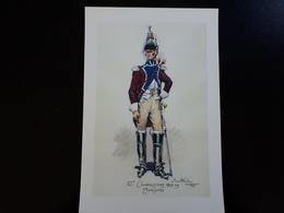 Affiche : Trompette Du 13 ème Cuirassiers 1808 Premier Empire & - Other