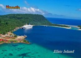 Vanuatu Efate Island Port New Postcard - Vanuatu