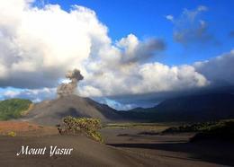 Vanuatu Mount Yasur Volcano New Postcard - Vanuatu